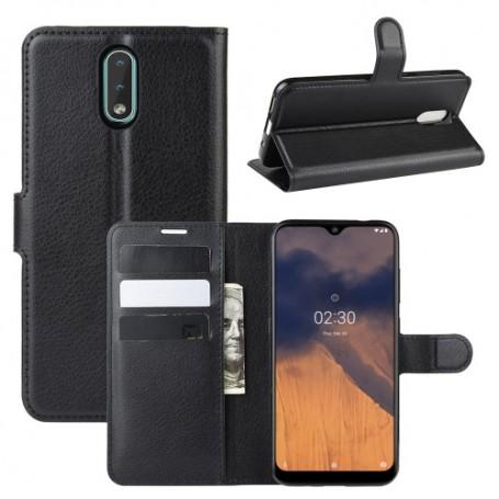 Nokia 2.3 musta suojakotelo