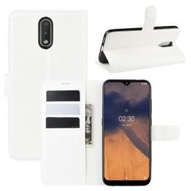 Nokia 2.3 valkoinen suojakotelo