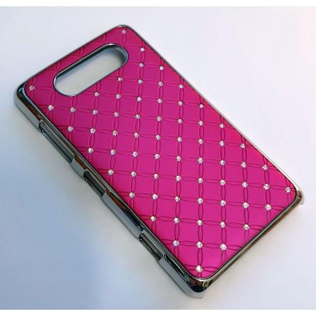 Nokia Lumia 820 hot pink luksus kuoret