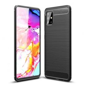 Samsung Galaxy A51 musta suojakuori