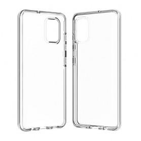 Samsung Galaxy A51 läpinäkyvä 360 asteen suojakuori.