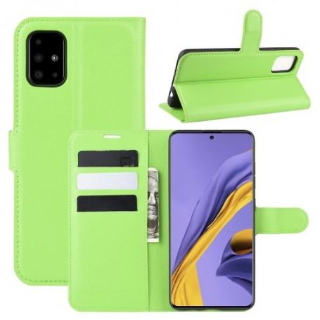 Samsung Galaxy A51 vihreä suojakotelo