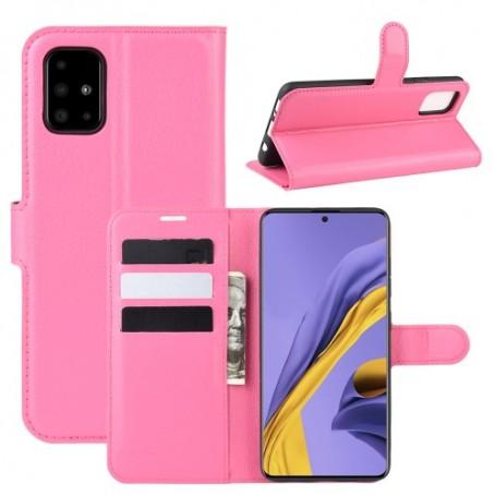 Samsung Galaxy A51 pinkki suojakotelo