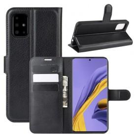 Samsung Galaxy A51 musta suojakotelo