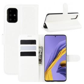 Samsung Galaxy A51 valkoinen suojakotelo