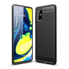 Samsung Galaxy A71 musta suojakuori