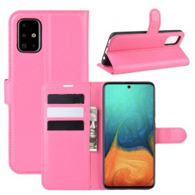 Samsung Galaxy A71 pinkki suojakotelo