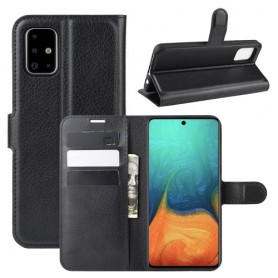 Samsung Galaxy A71 musta suojakotelo