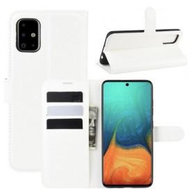 Samsung Galaxy A71 valkoinen suojakotelo