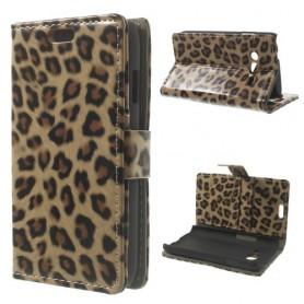 Galaxy Trend 2 leopardi lompakkokotelo