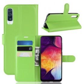 Samsung Galaxy A50 vihreä suojakotelo