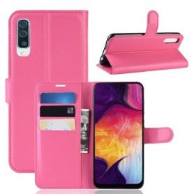 Samsung Galaxy A50 pinkki suojakotelo