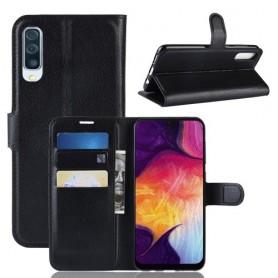 Samsung Galaxy A50 musta suojakotelo
