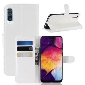 Samsung Galaxy A50 valkoinen suojakotelo