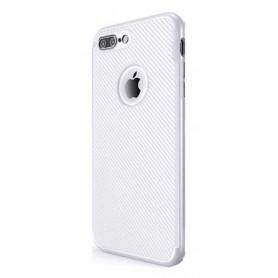 Apple iPhone 7 / 8 hopeanvärinen suojakuori