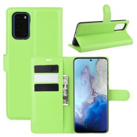 Samsung Galaxy S20 vihreä suojakotelo