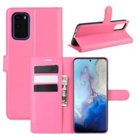 Samsung Galaxy S20 pinkki suojakotelo
