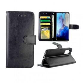 Samsung Galaxy S20 musta suojakotelo