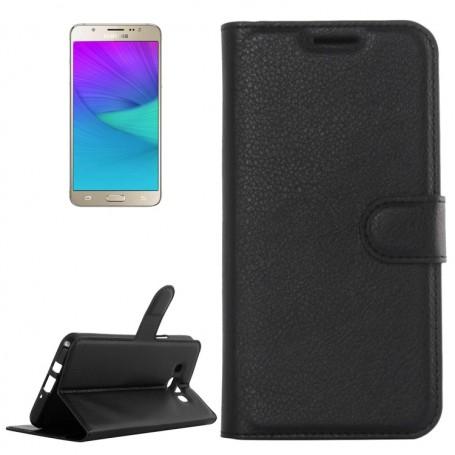 Samsung Galaxy J5 2016 musta puhelinlompakko