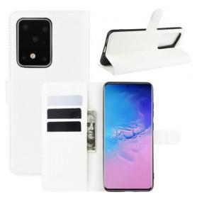 Samsung Galaxy S20 Ultra valkoinen suojakotelo