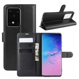 Samsung Galaxy S20 Ultra musta suojakotelo