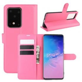 Samsung Galaxy S20 Ultra pinkki suojakotelo