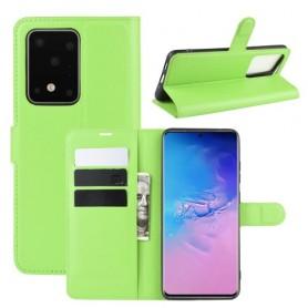 Samsung Galaxy S20 Ultra vihreä suojakotelo