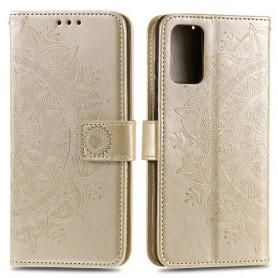 Samsung Galaxy S20 Plus kullanvärinen mandala suojakotelo