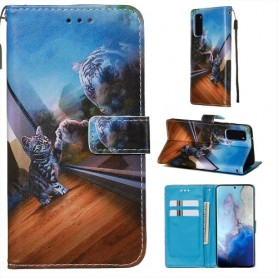 Samsung Galaxy S20 kissa suojakotelo