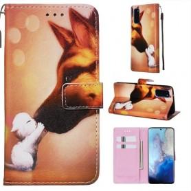 Samsung Galaxy S20 koira ja kissa suojakotelo