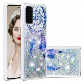 Samsung Galaxy S20 glitter hile unisieppari suojakuori