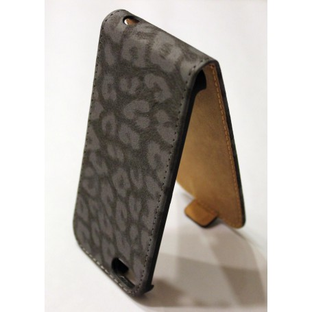 iPhone 5 tumma leopardi läppäkuori.