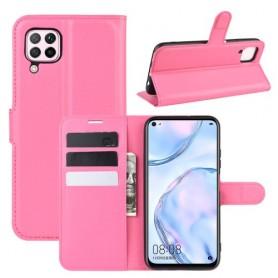 Huawei P40 Lite pinkki suojakotelo
