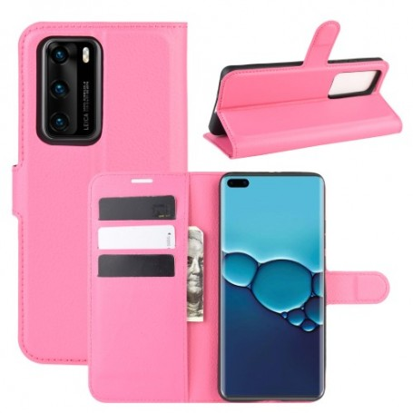 Huawei P40 pinkki suojakotelo