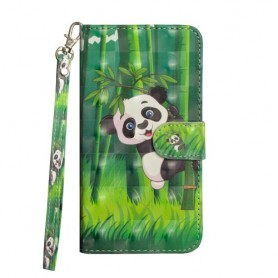 Huawei P40 Lite panda suojakotelo