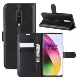 OnePlus 8 musta suojakotelo