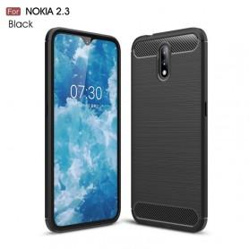 Nokia 2.3 musta suojakuori
