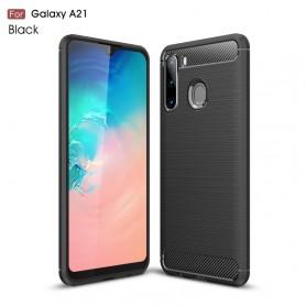 Samsung Galaxy A21 musta suojakuori