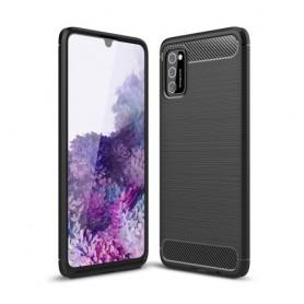 Samsung Galaxy A41 musta suojakuori