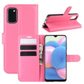 Samsung Galaxy A41 pinkki suojakotelo