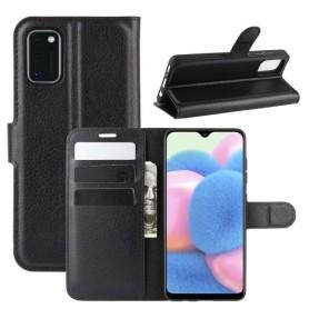 Samsung Galaxy A41 musta suojakotelo