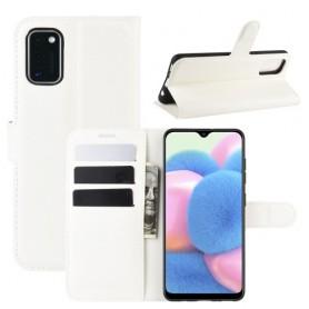Samsung Galaxy A41 valkoinen suojakotelo