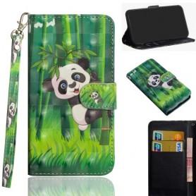 Huawei Y5P panda suojakotelo
