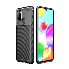 Samsung Galaxy A21s musta suojakuori