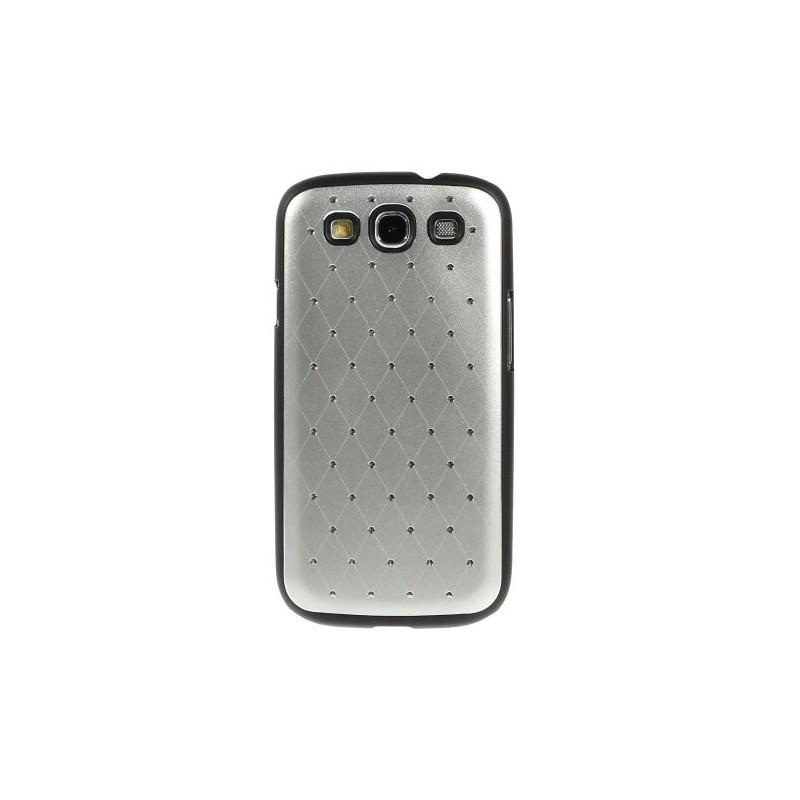 Galaxy S3 hopean väriset luksus kuoret