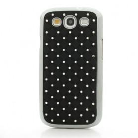 Galaxy S3 mustat luksus kuoret
