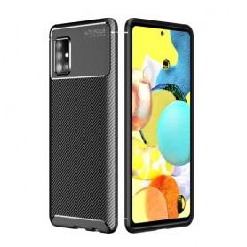 Samsung Galaxy A51 5G musta suojakuori