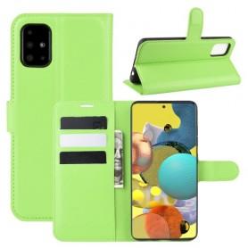 Samsung Galaxy A51 5G vihreä suojakotelo