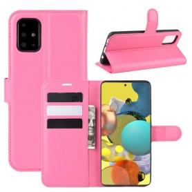 Samsung Galaxy A51 5G pinkki suojakotelo