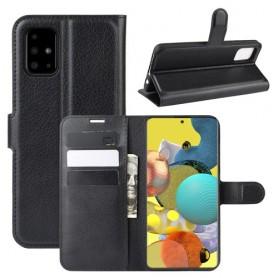 Samsung Galaxy A51 5G musta suojakotelo